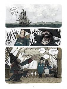 Le singe de Hartlepool - planche 1