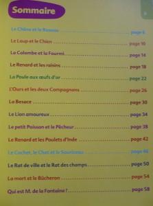 Encore des fables de La Fontaine pour réfléchir - présentation