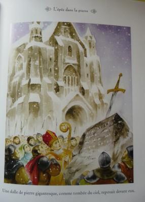 La légende du roi Arthur illustrée - illustration 1