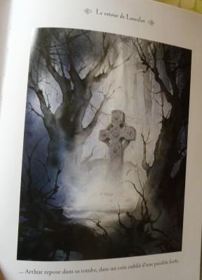 La légende du roi Arthur illustrée - illustration 3