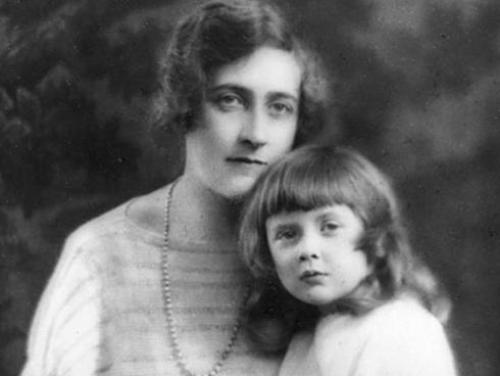Agatha-Christie-and-Daughter