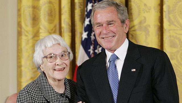 Harper Lee avec Bush